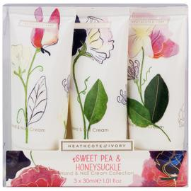 Sweet Pea and Honeysuckle Hand and Nail Cream Collection