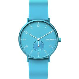 Skagen Unisex Adult Analogue Quartz Watch with Silicone Strap SKW6555 Best Price and Cheapest