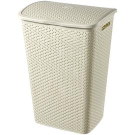 Curver 55 Litre Laundry Hamper - Cream
