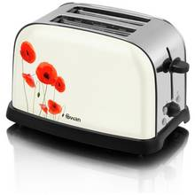 Swan Poppy 2 Slice Toaster