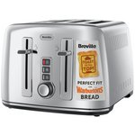 more details on Breville 4 Slice S/Steel Perfect for Warburtons Toaster.