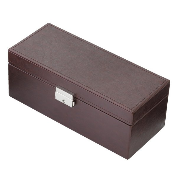buy jewellery boxes at argos co uk your online shop for gifts more details on george hardy watch and cufflink box