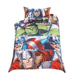 more details on Marvel Avengers Shield Bedding Set - Single.