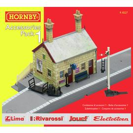 Hornby Building Extension Pack 1 00 Gauge Track Accessory.