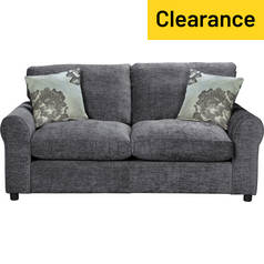 Argos Home Tessa 2 Seater Fabric Sofa Bed - Charcoal
