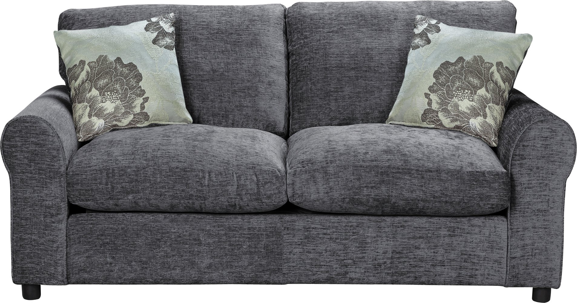 HOME Tessa Fabric Sofa Bed   Charcoal