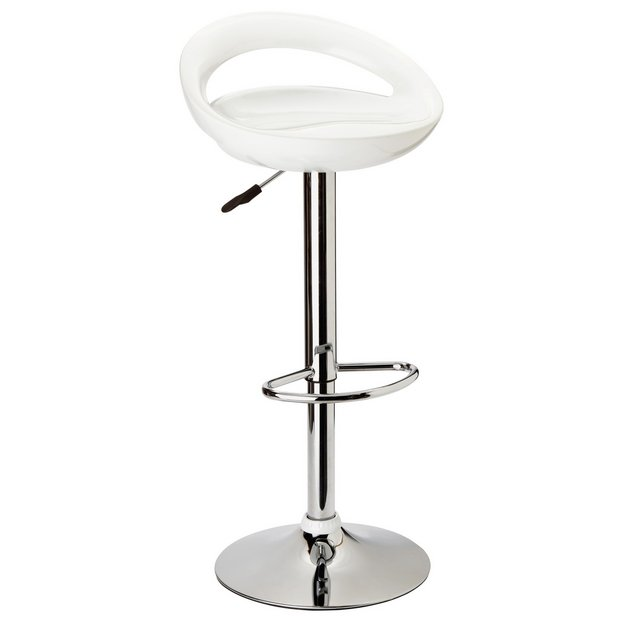 Buy Argos Home Ottawa White Bar Stool Bar Stools And