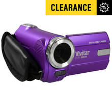 Vivitar DVR908M Full HD Camcorder - Purple