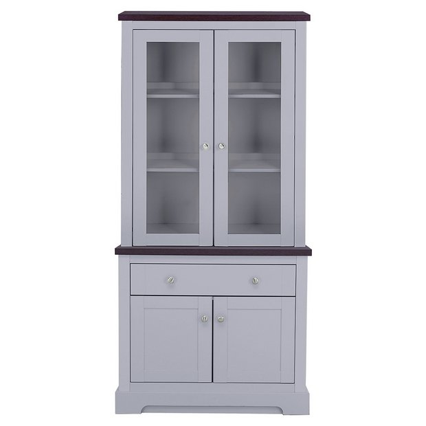 buy heart of house westbury display unit with lights. Black Bedroom Furniture Sets. Home Design Ideas