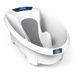 Aqua Scale™ Digital Baby Bath White