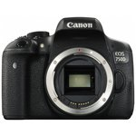 more details on Canon EOS 750D DSLR Camera 24.2MP - Body Only