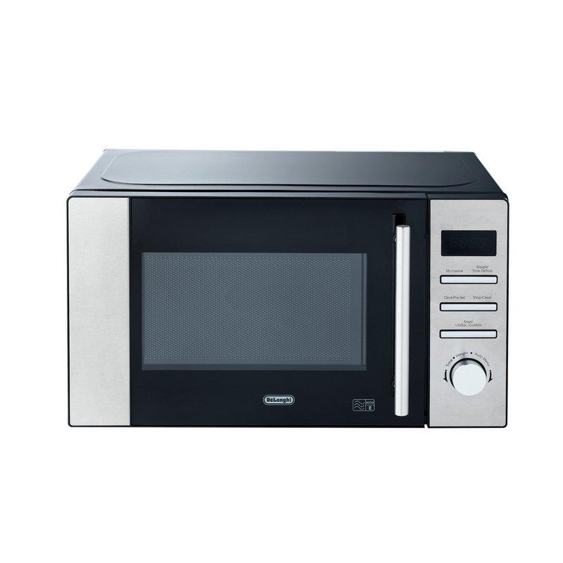 De'Longhi 800W Standard Microwave AM82 - Stainless Steel from Argos
