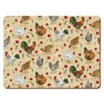 more details on Chicken Pack of 4 Placemats and Coasters.
