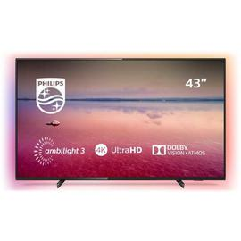 Philips 43 Inch 43PUS6704 Smart 4K HDR Ambilight LED TV