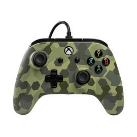 PowerA Wired Controller for Xbox One - Deep Jungle Camo