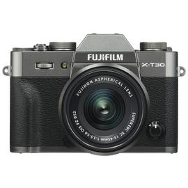 Fujifilm XT-30 Digital Camera with 15-45mm Lens - Charcoal
