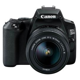Canon EOS 250D DSLR Camera Body with 18-55mm DC Lens