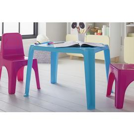 Argos Home Plastic Blue Table