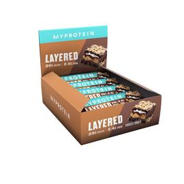 Myprotein Chocolate Sundae Layered Snack Bars x 12