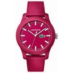 more details on Lacoste Men's 12.12 Red Polo Strap Watch.