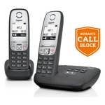 more details on Gigaset A455A Cordless Telephone with Answer Machine - Twin.
