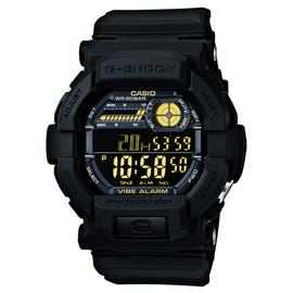 Casio G-Shock Men's Vibration Alert Black Resin Strap Watch