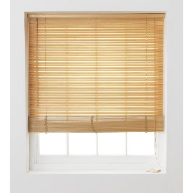 Buy Home Wooden Venetian Blind 2ft Natural At Argos Co