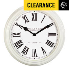 Argos Home Foxdale Classic Ivory Wall Clock