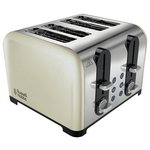 more details on Russell Hobbs 22403 Westminster 4 Slice Toaster – Cream.