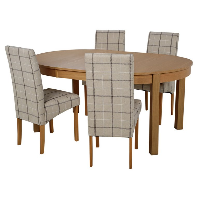 Buy Collection Massey Dining Table amp 4 Chairs Wood Effect  : 4028899RSETMain768ampw620amph620 from www.argos.co.uk size 620 x 620 jpeg 36kB