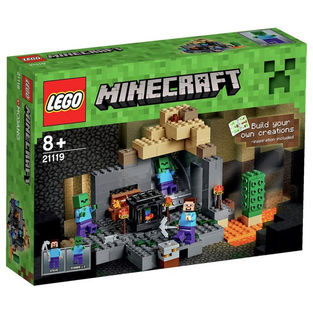 Buy LEGO Minecraft The Dungeon - 21119 at Argos.co.uk ...
