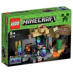 more details on LEGO Minecraft The Dungeon - 21119.