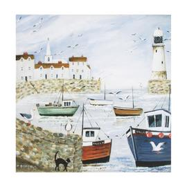 Art for the Home Harbourside Printed Canvas