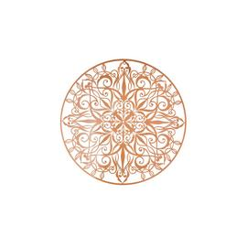 Art for the Home Copper Luxe Metal Wall Art