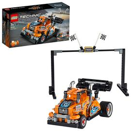 LEGO Technic Race Truck Toy 2-in-1 Pull-Back Motor Set-42104