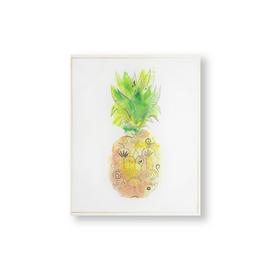 Art for the Home Pineapple Tropics Printed Canvas