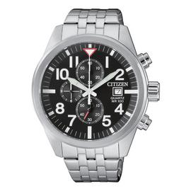 Citizen Quartz Chronograph Stainless Steel Bracelet Watch