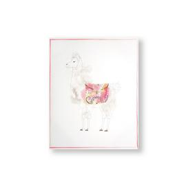 Art for the Home Lucky Llama Printed Canvas