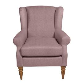 Argos Home Bude Fabric Wingback Chair - Pink