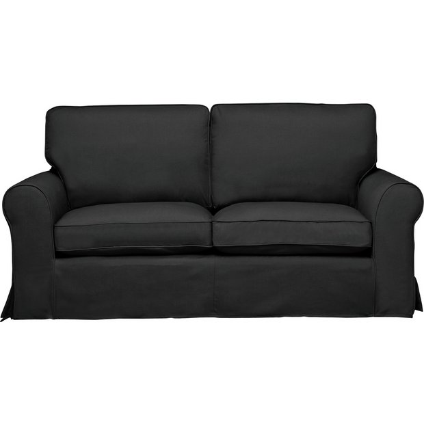 Sofas Loose Covers: Buy HOME Charlotte 3 Seater Fabric Sofa, Loose Cover