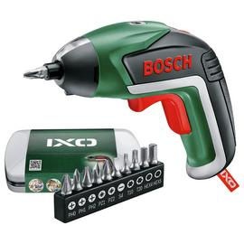 Bosch IXO V Cordless Screwdriver with 10 Bits & Case - 3.6V