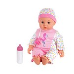 more details on Chad Valley Babies to Love Lily Interactive Doll.