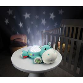 Fisher-Price HIPPO Cuddle Projection Soother - Blue
