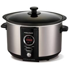 Morphy Richards Accents 3.5L Digital Slow Cooker - Steel