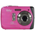 more details on Vivitar 12MP Waterproof Digital Camera - Pink