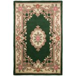 Empire Bottle Green Rug - 75 x 150cm