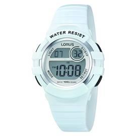 6c7f6fd9e92b Lorus Ladies Digital Sports White Resin Strap Watch