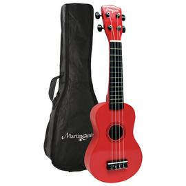Martin Smith Soprano Size Ukulele - Red