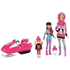 Barbie Sister Fun Dolls Gift Set