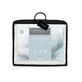 Downland 15 Tog Duck Feather and Down Duvet - Superking